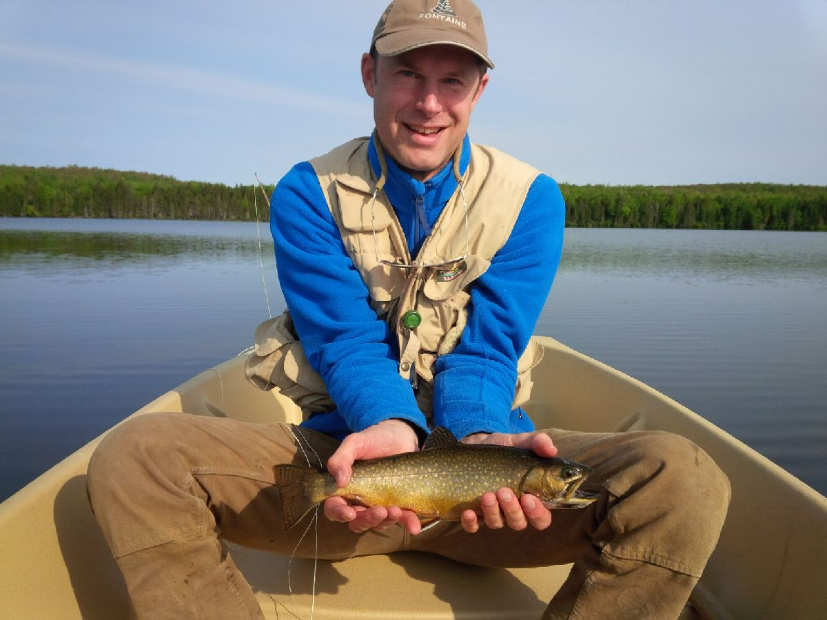 Only fly fishing is permitted for our wild brook trout. Click here for information about our introductory fly fishing weekends in May, June and September.