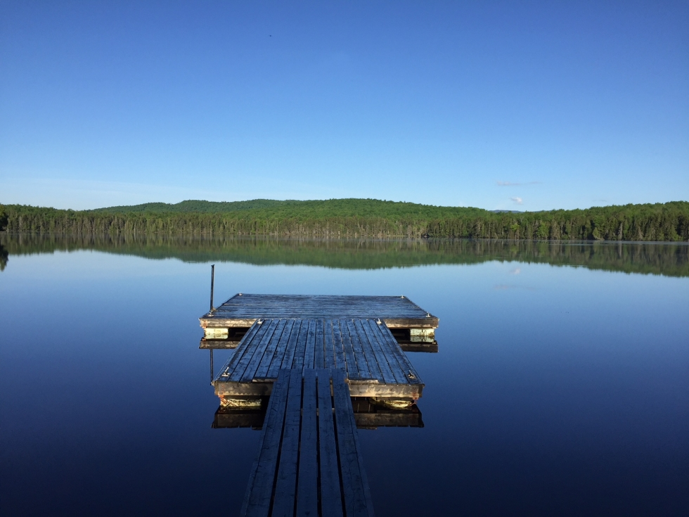Dock and lake